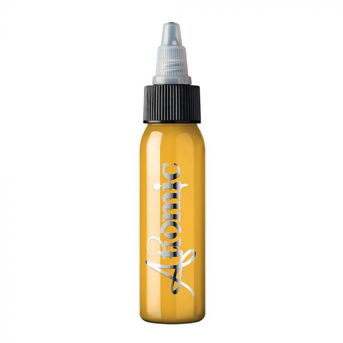 Tinta de Tatuagem Atomic Uncut Yellow 30 ml