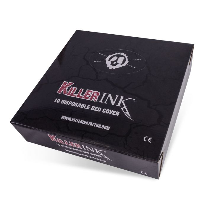 Caixa de 10 Capas Elásticas para Cama Killer Ink 210x90x20 cm