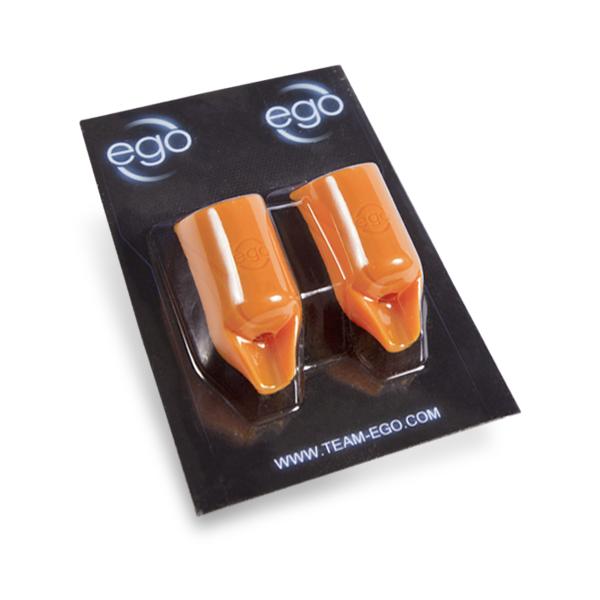 Pack de 2 Biogrips EGO em Silicone (Retos) em Laranja - Tubos até 19 mm