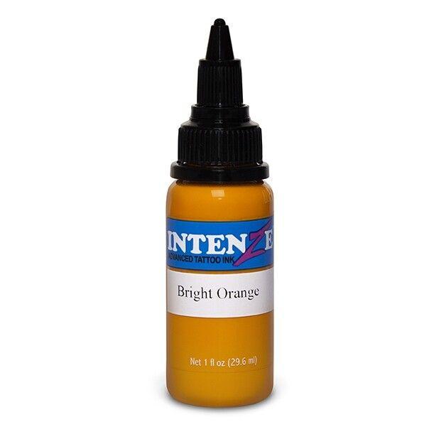 Tinta de Tatuagem Intenze New Original Bright Orange 30 ml (1oz)