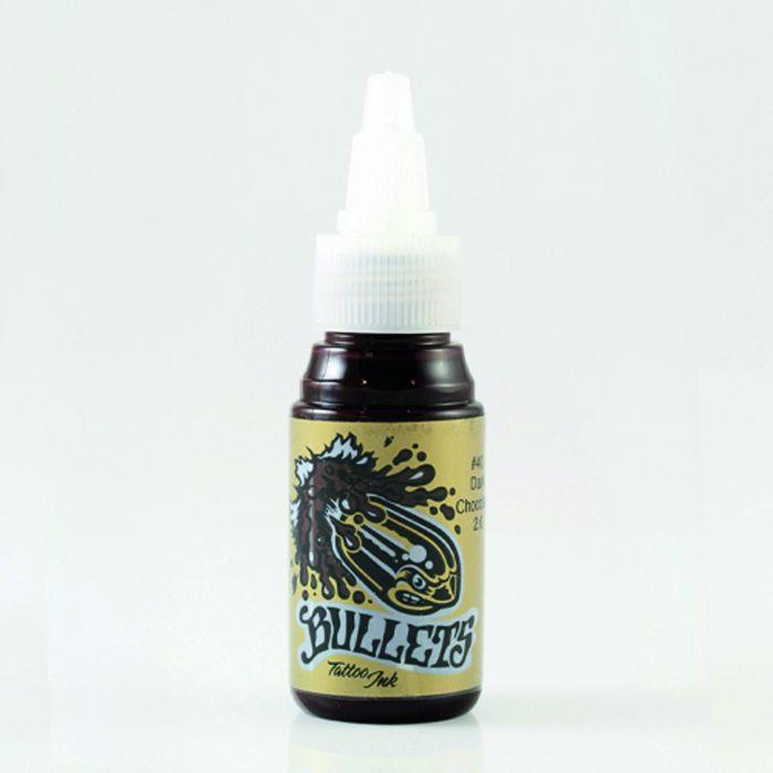 Tinta de Tatuagem Bullets Dark Chocolate 35 ml