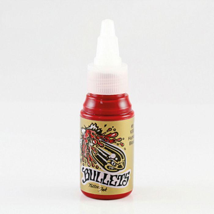 Tinta de Tatuagem Bullets VSB Human Blood 35 ml