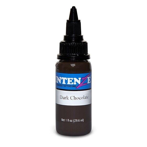 Tinta de Tatuagem Intenze New Original Dark Chocolate 30 ml (1oz)
