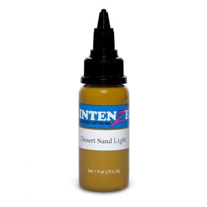 Tinta de Tatuagem Intenze Earth Tone Desert Sand Light 30 ml (1oz)