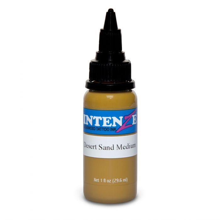 Tinta de Tatuagem Intenze Earth Tone Desert Sand Medium 30 ml (1oz)
