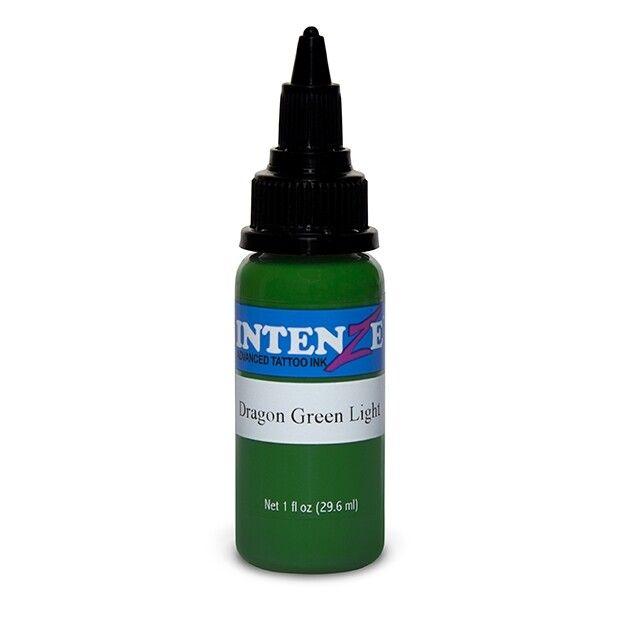 Tinta de Tatuagem Intenze Dragon Green Light 30 ml (1oz)