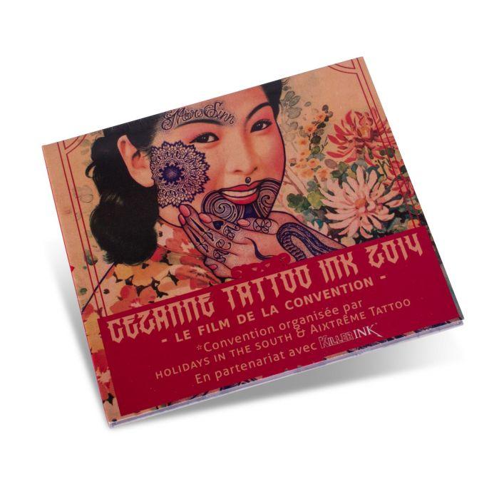 DVD da Convenção Cezanne Tattoo Ink 2014