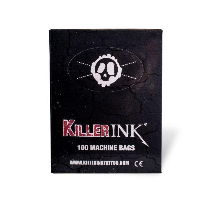 Embalagem de 100 Sacos para Máquina de Tatuar Killer Ink