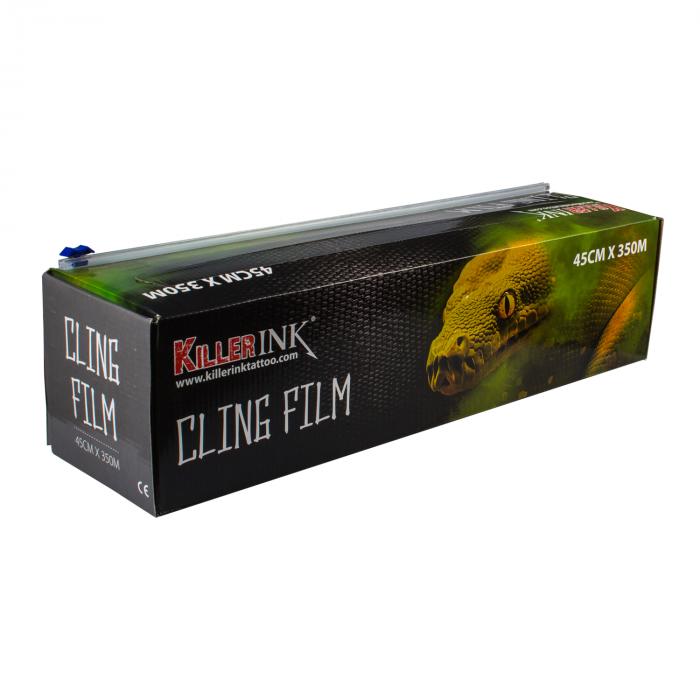 Película Aderente de Corte Fácil Killer Ink em Dispensador 350 m x 45 cm