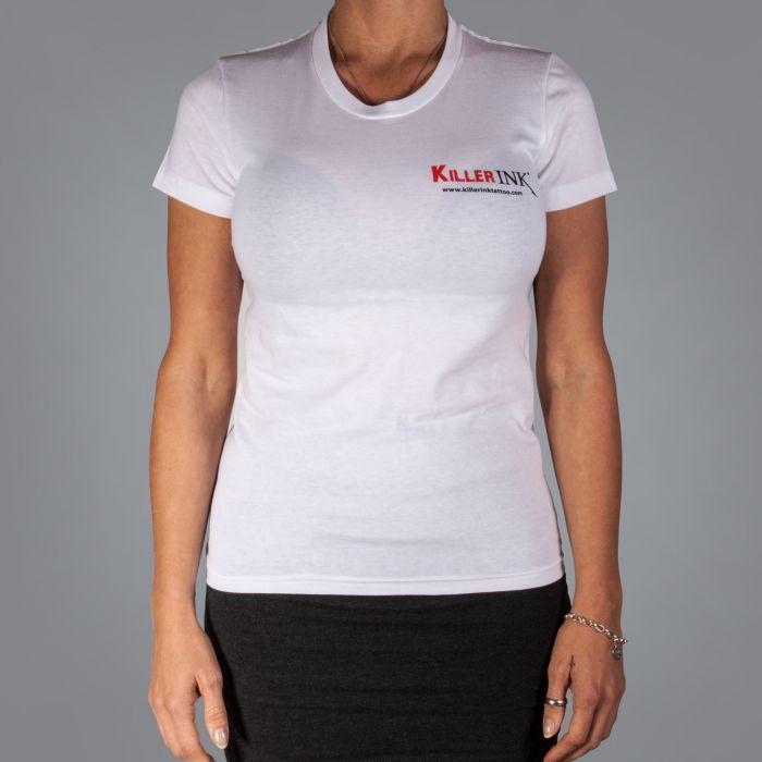 T-Shirt de Mulher Killer Ink - Branco