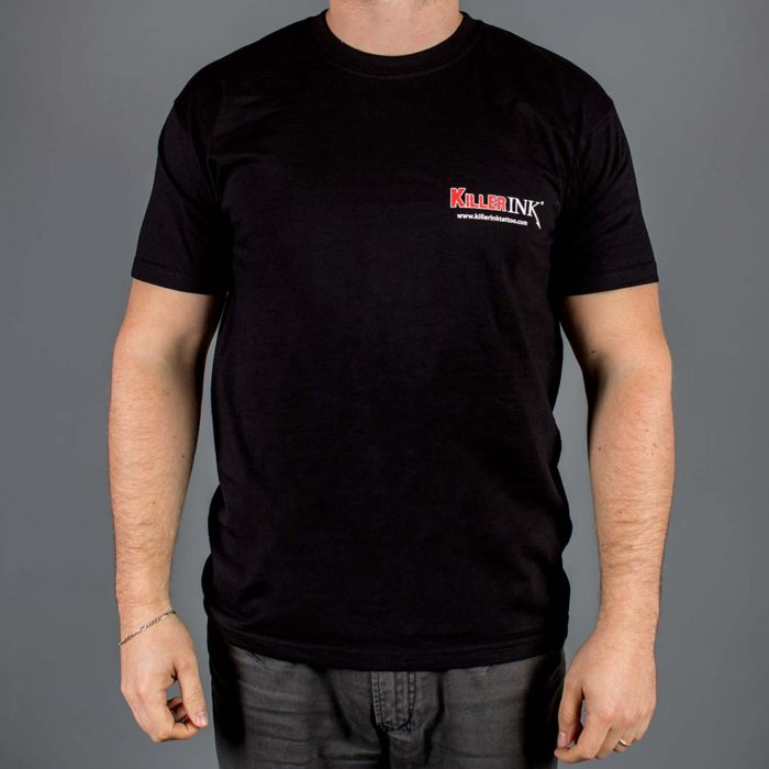 T-Shirt  Killer Ink Gola Redonda em Preto