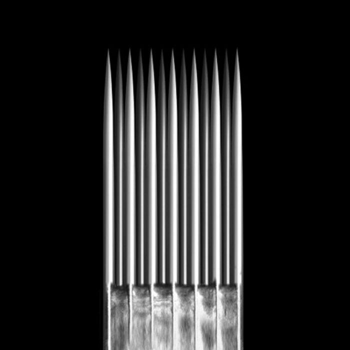 Caixa de 50 Agulhas KWADRON 0,25 mm TAPER LONGO - Magnum