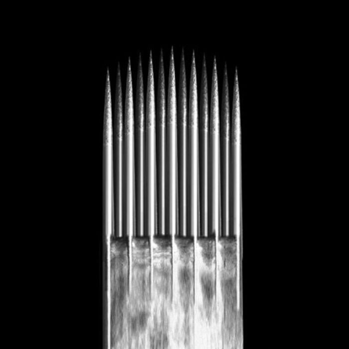 Caixa de 50 Agulhas KWADRON 0,35 mm TAPER LONGO - Magnum Borda Suave