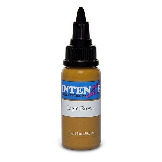 Tinta de Tatuagem Intenze Basic Light Brown 30 ml (1oz)