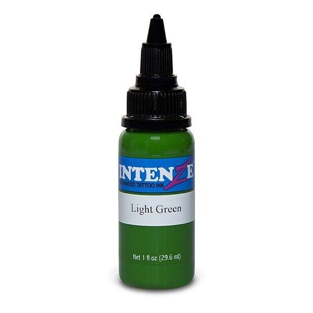 Tinta de Tatuagem Intenze Basic Light Green 30 ml (1oz)