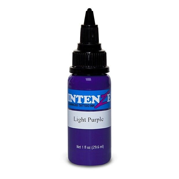 Tinta de Tatuagem Intenze Basic Light Purple 30 ml (1oz)