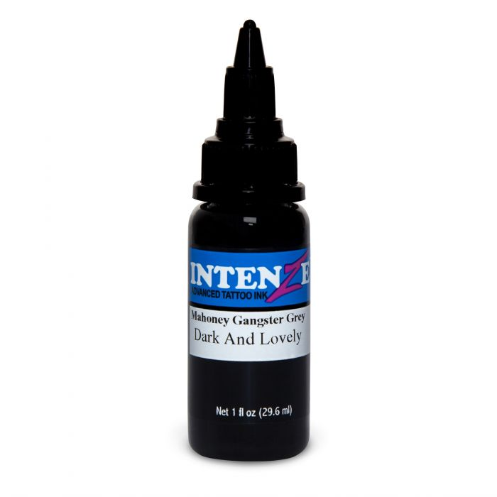 Tinta de Tatuagem Intenze Mark Mahoney Gangster Grey Dark and Lovely 30 ml (1oz)