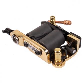 Máquina de Tatuar Micky Bee Original Brass Lightning Colour Packer / Shader - Feita em Inglaterra
