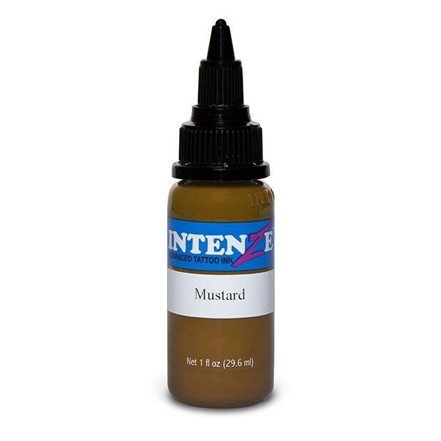Tinta de Tatuagem Intenze New Original Mustard 30 ml (1oz)