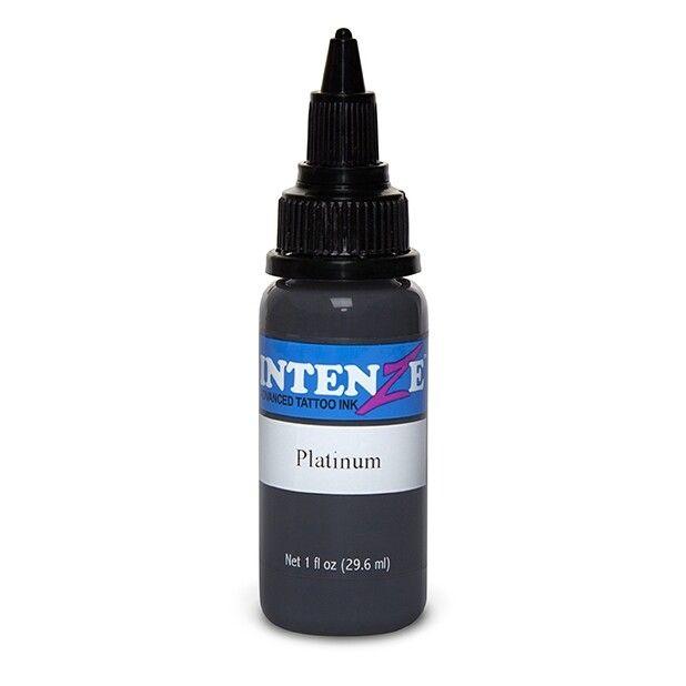 Tinta de Tatuagem Intenze Pastel Platinum 30 ml (1oz)