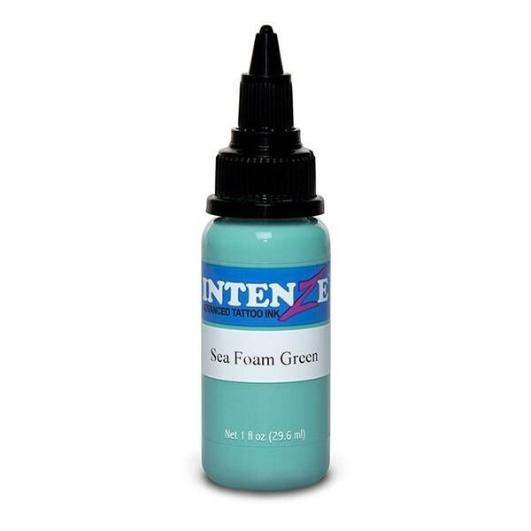 Tinta de Tatuagem Intenze Pastel Seafoam Green 30 ml (1oz)
