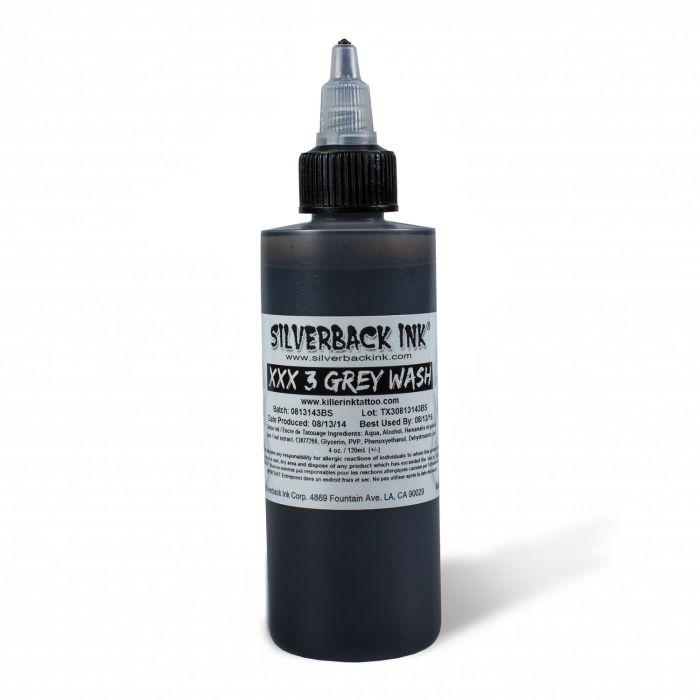 Tinta Silverback Ink® XXX Greywash 3 120 ml (4oz)