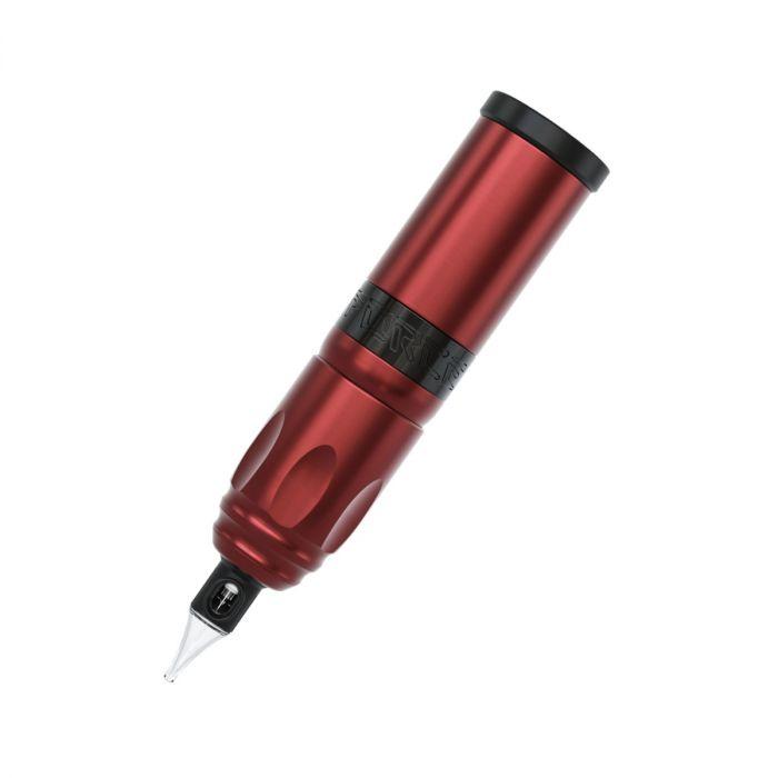 Máquina de Tatuagem Sem Fios Stigma-Rotary® Force + Power Pack + Adaptador RCA - Vermelho