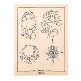 Pele de Prática de Desenhos de Tatuagens