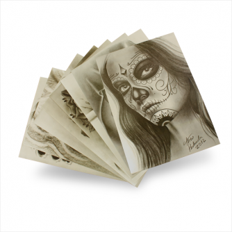 Theo Pedrada - Day of The Dead Flash Series (8 Folhas)