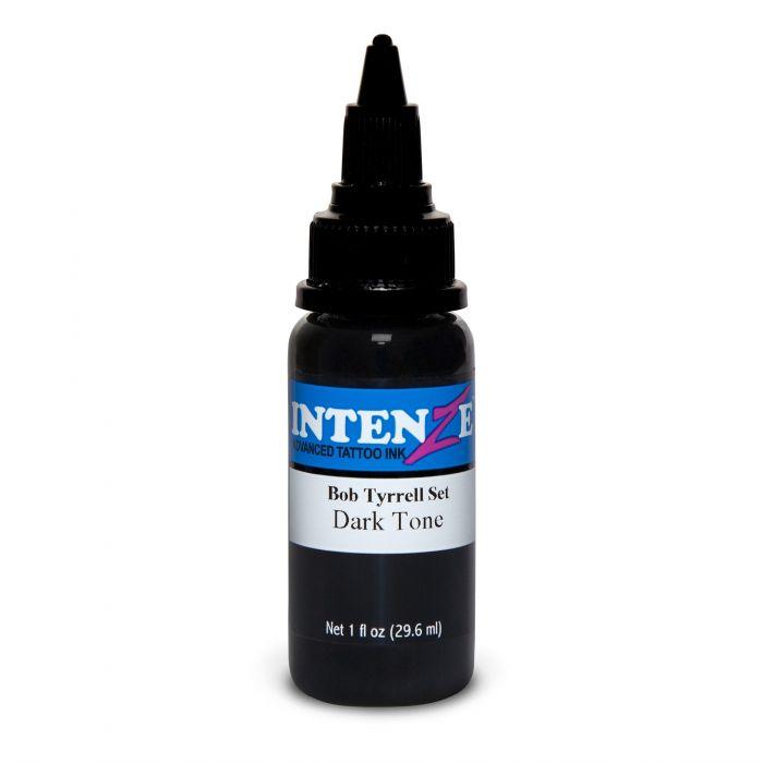 Tinta de Tatuagem Intenze Bob Tyrrell Dark Tone 30 ml (1oz)
