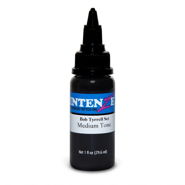Tinta de Tatuagem Intenze Bob Tyrrell Medium Tone 30 ml (1oz)