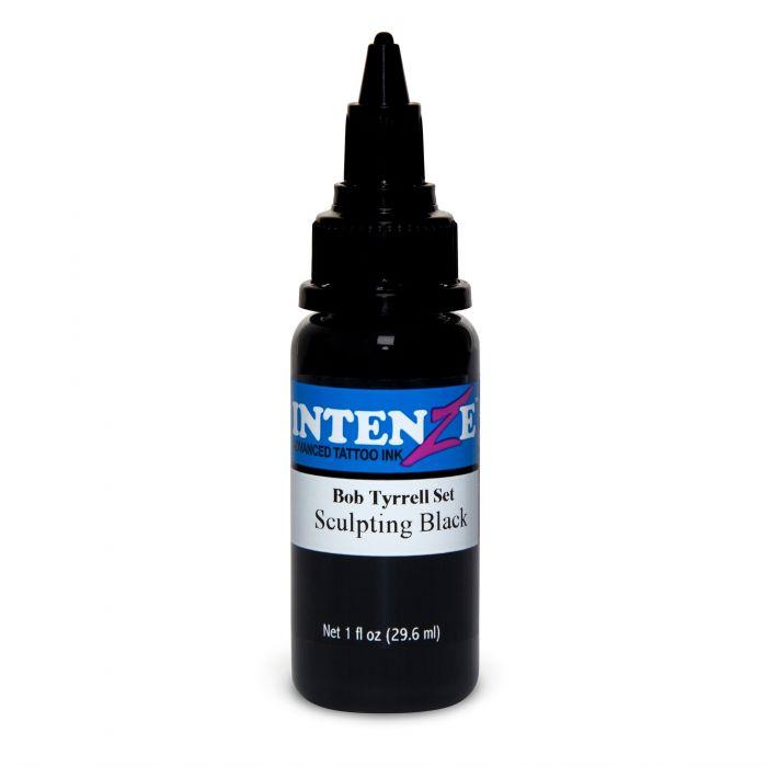 Tinta de Tatuagem Intenze Bob Tyrrell Sculpting Black 30 ml (1oz)