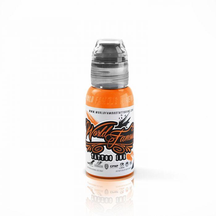 Tinta de Tatuagem World Famous Ink Everest Orange 30 ml (1oz)