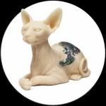 Sphynx Cat & Inkenstein De Silicone
