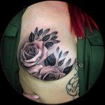 Sobrevivente Do Câncer Da Mama Inspira Com Tatuagem Incrível Após Mastectomia